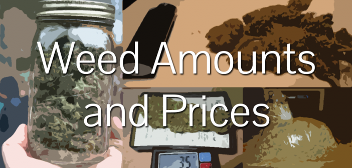 How Much for a Gram, Eighth, Quarter, Half, or Ounce of Weed?